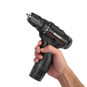 Electric Drill Rechargeable Screwdriver Handheld Lithium Battery Drilling Tools Easily Carrying Lightweight Gadgets