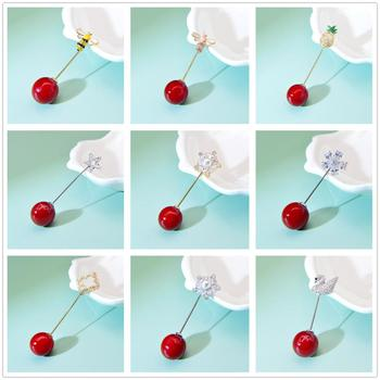 CINDY XIANG Cubic Zirconia Bee Brooches For Women And Men Pearl Pin Brooch Bee Flower Pineapple Pin High Quality Suit Jewelry real natural pearl brooch for women pearl brooch fashion jewelry classic charm high quality accessories pin