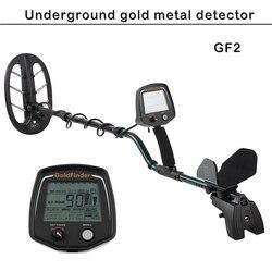 Profesjonalny wykrywacz złota GF2 podziemny Metal złoty srebrny Finder Hunter wysokiej czułości LCD wykrywacz metali wodoodporny Searchco