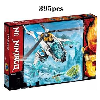 In Stock Ninja Series Bricks Shuricopter Compatible Lepining Ninjago 70673 Building Blocks Toys for Children Christmas Gift