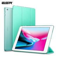 ESR Fall für iPad 9 7 2018 Yippee Farbe PU Leder Ultra Slim PC Zurück Abdeckung Fall für iPad 2018