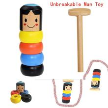 Ранние образовательные бесмерные неубиваемые деревянные человек волшебная игрушка уличный сценический магический реквизит ломаются деревянные люди интересные игрушки
