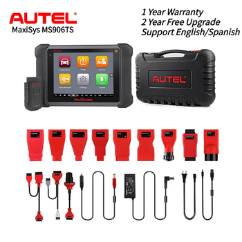 Autel MaxiSys MS906TS Diagnostic Auto Tool All Systems TPMS programming tool OBD2 Scanner ECU Coding OE-level Car Scanner