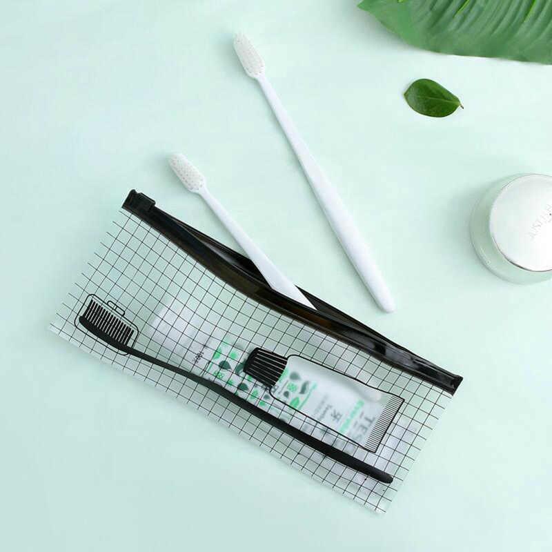 Прозрачный чехол для документов одежда туалетные принадлежности сумка для косметики багажные крючки для полотенца чемодан пакет на застежке косметические аксессуары