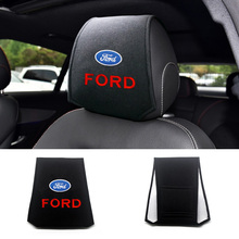 Auto Headrest Seat-Covers Support-Holder Pillow-Neck Ecosport Fiesta Ford Car-Styling