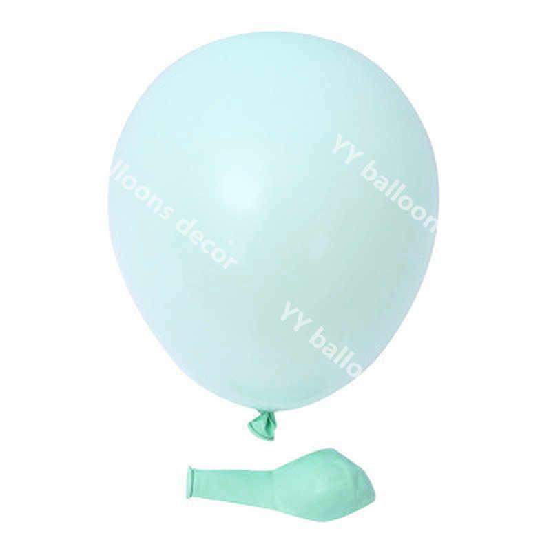 استحمام الطفل معكرون النعناع الأزرق لتقوم بها بنفسك الباستيل s جارلاند الشظية Globos لعبة أطفال 1 عدة عيد ميلاد ديكور حفلات الزفاف