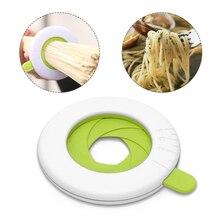 Профессиональный компонент лапши регулятор практичные кухонные аксессуары спагетти измеряет пластиковый материал экологически чистый точный
