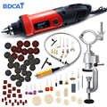 BDCAT 400 Вт электрическая дрель мини гравер переменная скорость роторный шлифовальный станок Инструменты сверлильный станок электроинструме...