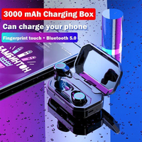 Charging Box Accessories Deep Bass Stereo Wireless Earbuds Music Cap Headset Bluetooth Earphone Car Waterproof Battery Operated