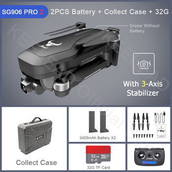 ZLRC Beast SG906 Pro 2 Brushless Motor with 3-Axis Gimbal GPS 5G WIFI FPV Professional 4K Camera RC Drone Quadcopter Dron PRO2 12