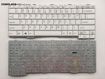 Russian Japanese Nordic US Laptop Keyboard For Fujistu A561D A561C E741 A552 SH560 SH761 T901 S761 S762 White RU JP ND Layout