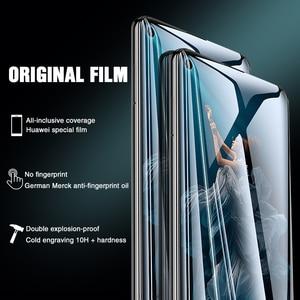 Image 2 - 111D 保護ガラス Huawei 社の名誉 20 プロ 10 Lite 8 9 V10 V20 強化ガラスのため 20 Lite スクリーンプロテクターフィルム