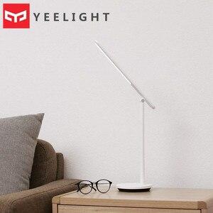 Image 1 - 2020 nouveau Yeelight pliable bureau liseuse Z1Pro 5 vitesses réglable rotatif type c rechargeable synchronisation LED lampe de Table