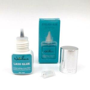 Image 3 - NATUHANA colle pour faux cils, séchage rapide en 1 seconde, colle pour faux cils noirs, outil de maquillage