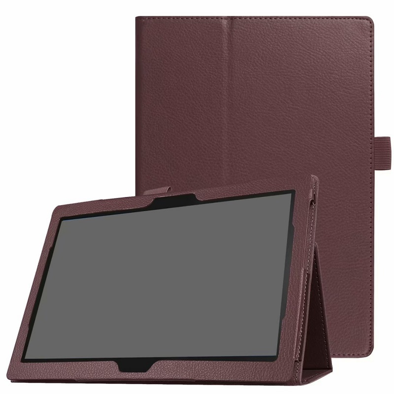 <font><b>Case</b></font> For <font><b>Lenovo</b></font> Tab M10 10.1 <font><b>TB</b></font>-X605L Cover Protective PU Leather Folding Stand <font><b>Case</b></font> For <font><b>Lenovo</b></font> Tab P10 <font><b>TB</b></font>-<font><b>X705L</b></font> 10 Funda Coque image