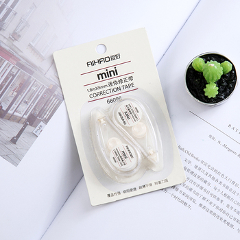 4pcs Transparent Correction Tape Student Corrector Tapes Office School Stationery Supplies Color Random Plastic Correction Tape цена 2017