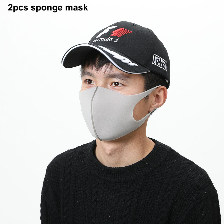 2pc sponge mask