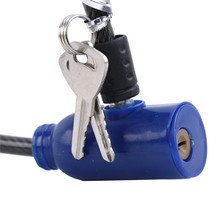 Multifunctional Bicycle Lock Exquisite Steel Cable Lock Outdoor Supplies anti-theft Lock Mountain Bike Wire Lock