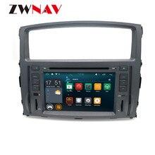 Android 9.0 4+64G DSP Radio Car DVD Player GPS navigation For MITSUBISHI PAJERO 2007 - 2011 Head Unit Multimedia Tape Recorder