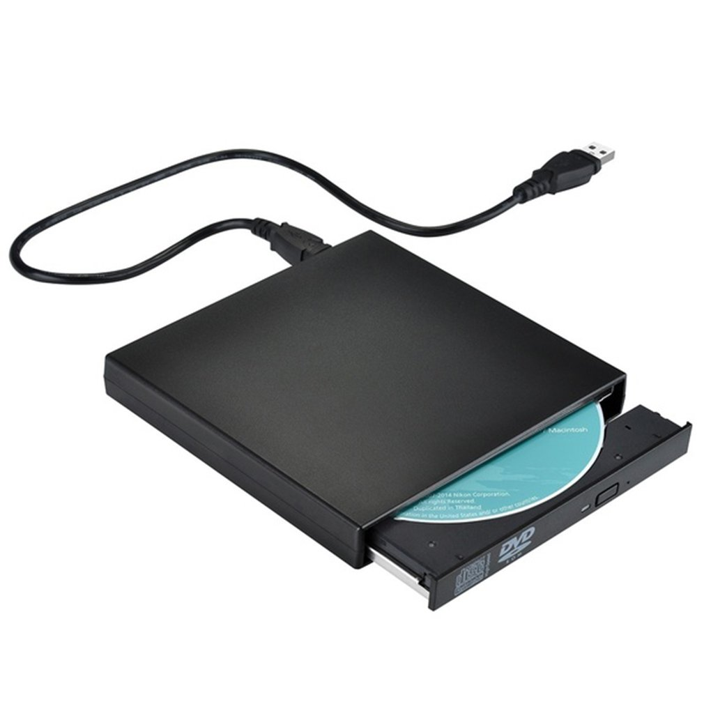 2019 New USB External CD-RW Burner DVD/CD Reader Player Optical Drive For Laptop Computer
