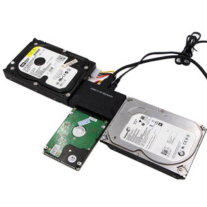 USB3.0 to IDE / SATA Converter USB IDE SATA Adapter Hard Drive SATA new 100-240V globally applicable 2A power adapter cable