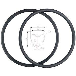 Image 1 - Светильник 315g Speedsafe 29er XC бескамерные Асимметричные карбоновые колеса для горного велосипеда 28 мм ширина 28 мм Глубокий UD матовый глянцевый марафон велосипедные колеса