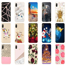 silicone Cover For Xiaomi MI A2 LITE Case Full Protection So