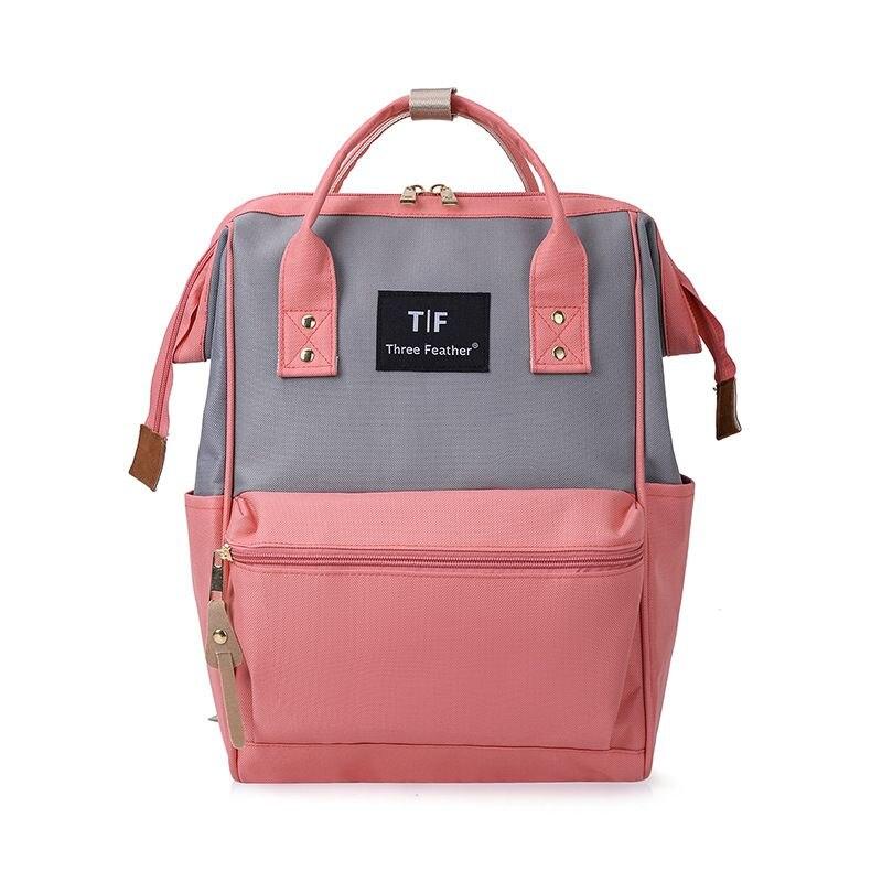 Модный рюкзак для подгузников для мам, Большая вместительная сумка для подгузников, водонепроницаемая сумка для подгузников, дорожная сумка для детских колясок - Цвет: PH