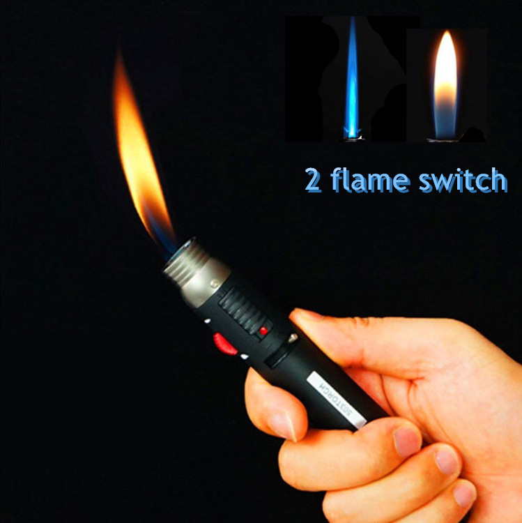 Outdoor Lighter Jet Flame Pencil Welding Soldering Portable Pen Butane Gas Refillable Fuel  More Than 1300 Degree