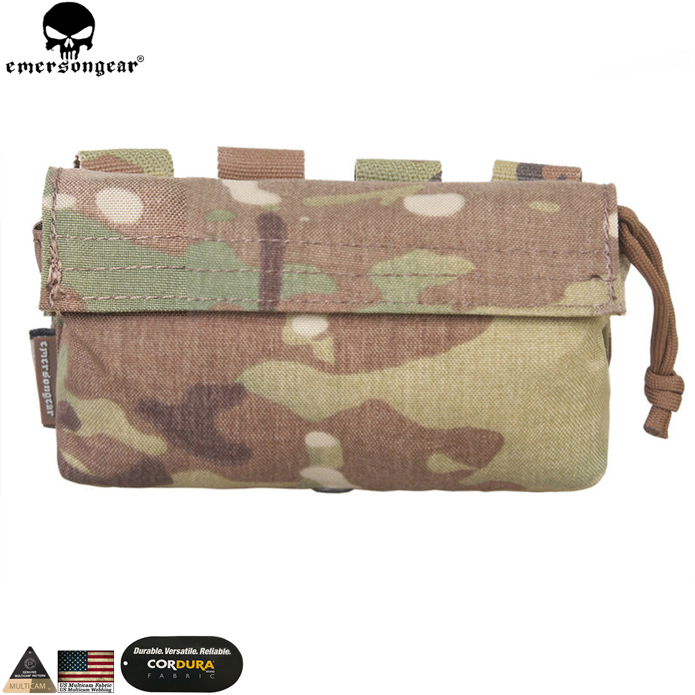 EMERSONGEAR Communication Pouch Hunting Tactical MOLLE Pouch Vest Backpack Multicam Bag Pouch EM9333