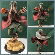 Figura de acción de Anime Shippuden Jiraiya Gama Bunta Gama Sennin, modelo coleccionable de PVC, muñeco de regalo para niños