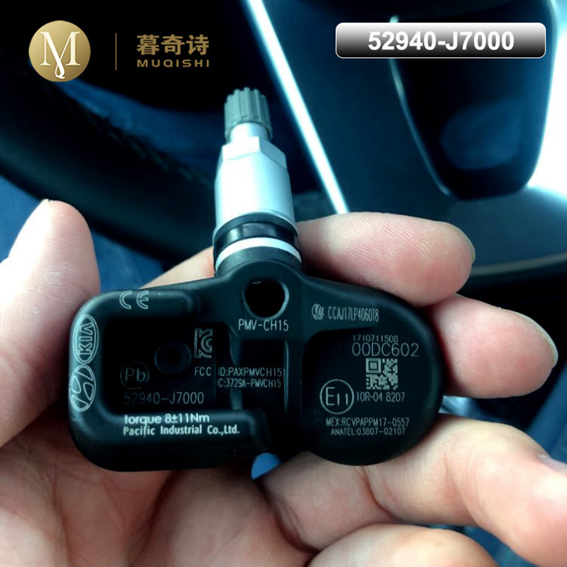 Tire Pressure Sensor For Kia Ceed [CD] Proceed Forte K3 <font><b>52940</b></font>-<font><b>J7000</b></font> 52940J7000 Car Alarm Sensors 2018 2019 2020 2021 433MHz TPMS image