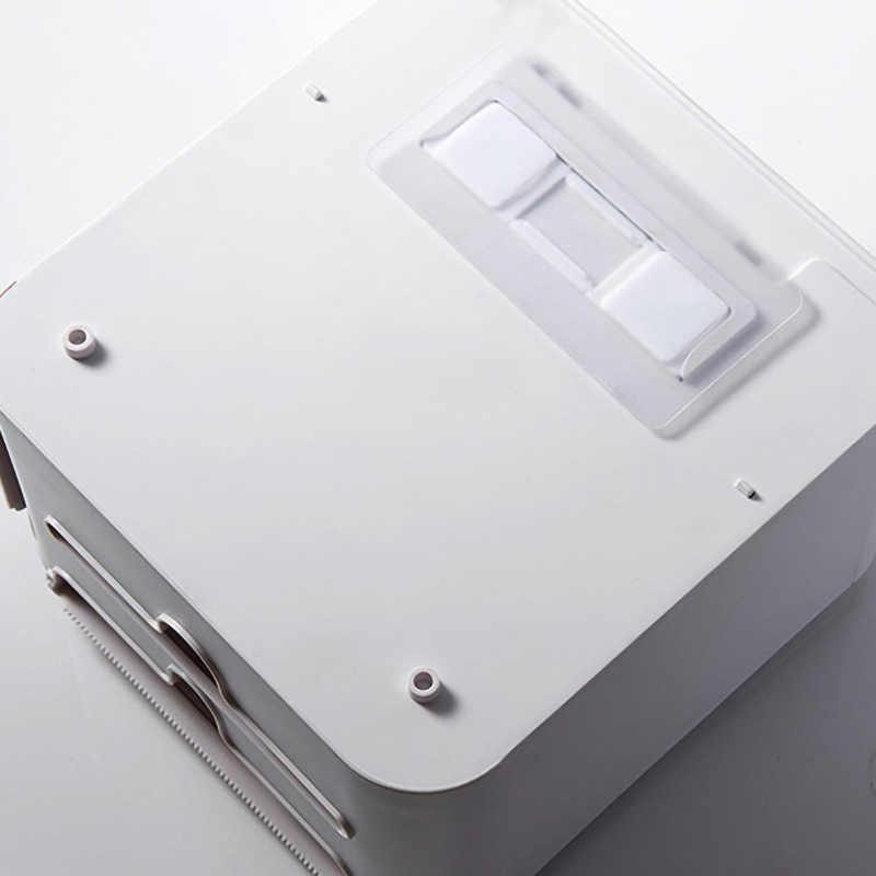 ONEUP papel higiénico doble portátil caja de almacenamiento impermeable para inodoro montado en la pared dispensador de rollo de papel accesorios de baño