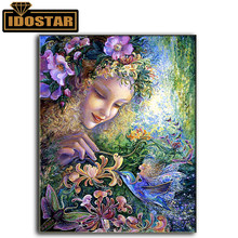 Princess fantasy fairy new arrival DIY Crystal full drill square 5D diamond painting 3d cross stitch kit mosaic round rhinestone(China)