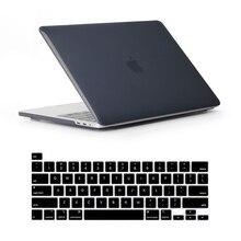 Dla nowego Macbook Pro 16 2019 Case A2142 model Touch ID i Touch Bar pokrowiec na laptopa do Mac Book Pro 16 calowa obudowa klawiatury