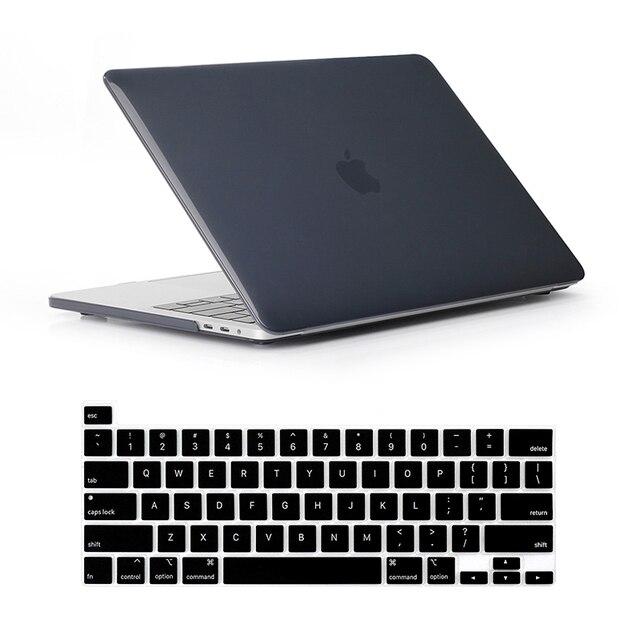 Para novo macbook pro 16 2019 caso a2142 modelo touch id & barra de toque capa luva do portátil para mac book pro 16 polegada teclado capa