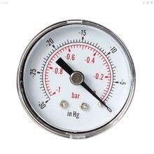 Vacuum Gauge for Air Fuel Oil or Water 40mm 0/30