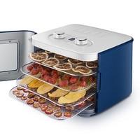 Food Dehydrator Dried Fruit Machine 4 Layers Fruit Snacks Vegetables Dehydrated Food Dryer Machine Pet Food Snack Machine 220V