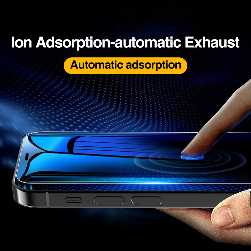 4Pcs Full Cover Tempered Glass For iPhone 11 Pro X XR XS MAX 12 Pro Max Mini Screen Protector For iPhone 6 7 8 Plus Glass film 6