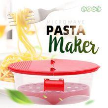 Strainer Pasta-Maker Microwave Steamer Kitchen-Tools Boat Heat-Resistant PP