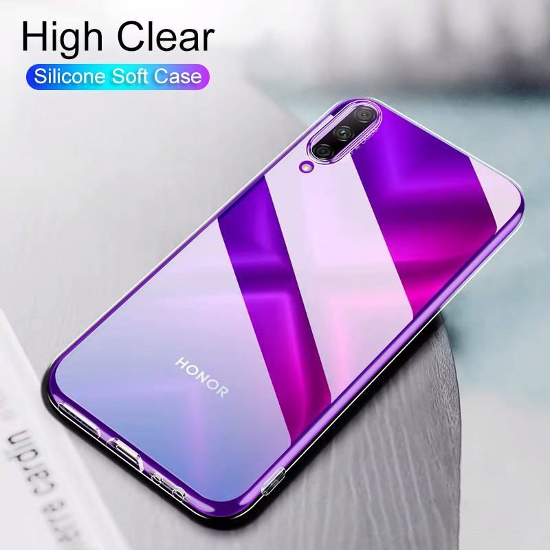 Ultra Thin Silicone Soft <font><b>Case</b></font> For Huawei <font><b>Honor</b></font> 20 Pro 10 9 Lite Transparent Tpu Slim Back Cover <font><b>Case</b></font> For <font><b>Honor</b></font> <font><b>8x</b></font> <font><b>Max</b></font> 6x 7x Slim image