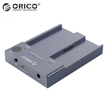 ORICO M2P2-C3-C Dual Bay M.2 NVMe SSD stacja dokująca do 10 gb/s USB 3. 1 typ C półprzewodnikowy dysk twardy wielu dysku kopiowanie klonowanie stacja dokująca