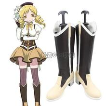 Anime Puella Magi Madoka Magica Tomoe Mami Cosplay Shoes Boo