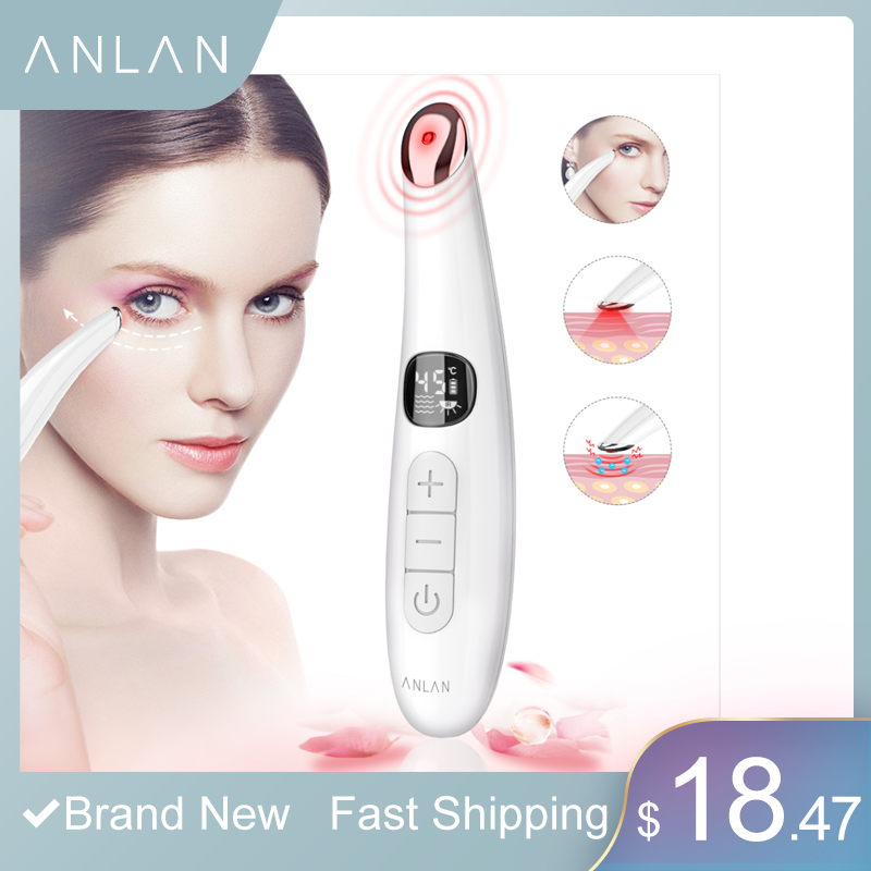 Mini Electric Vibration Eye Face Massager Anti-Ageing Eye Wrinkle Massager Dark Circle Removal Portable Beauty Care Pen Massage