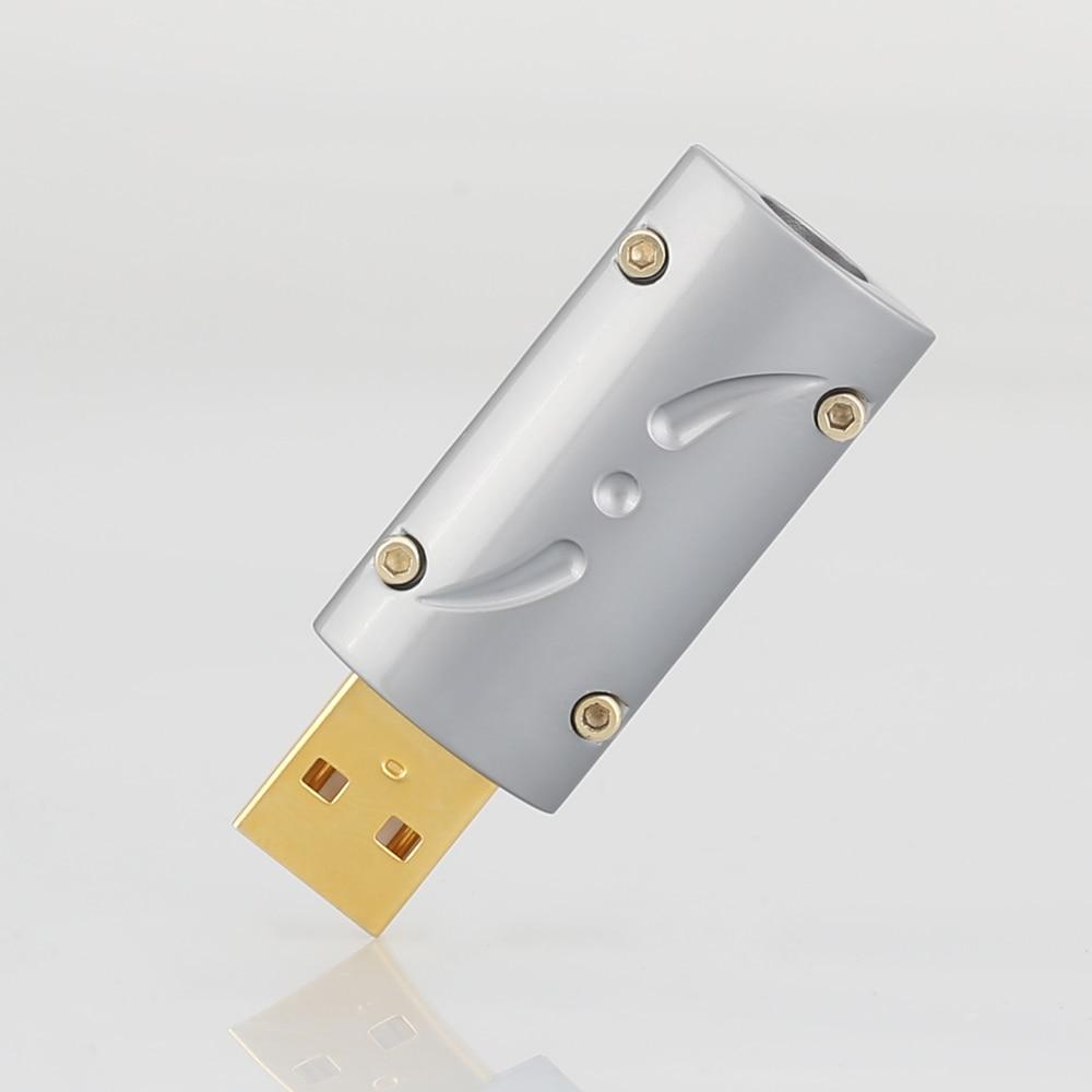 Viborg HI-END 24K Gold Plated USB2.0 Plug USB A, USB B Connector DIY Hi Fi USB Cable