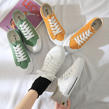 2019 Canvas Shoe Schoolgirl Small White Shoes