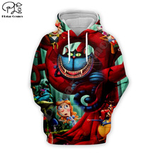 Halloween Men women 3d Hoodies black Cheshire Cat print Sweatshirt tshirt zipper Christmas cartoon pullover unisex Tracksuit цена и фото