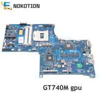 NOKOTION 746451 501 746451 001 720266 501 720266 001 laptop motherboard For HP envy 17 17 J GT740M 6050A2549801 MB A02 Mainboard