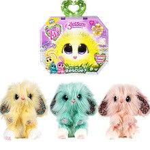 Muñeco de algodón para Baño de mascotas, gato, perro, juguete de felpa, unicornio, Navidad, regalo de Halloween, adornos, exfoliante, oreja grande, conejo de limón