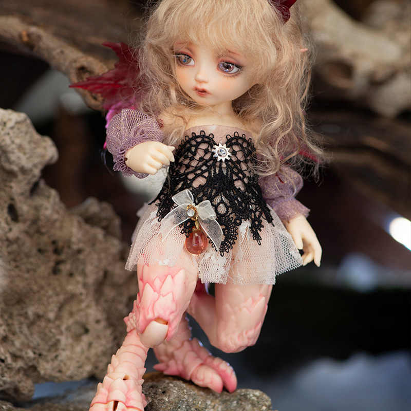 1//7 BJD Doll SD DOLL FL-Hippogriff Rus Free Make Up-Blue color